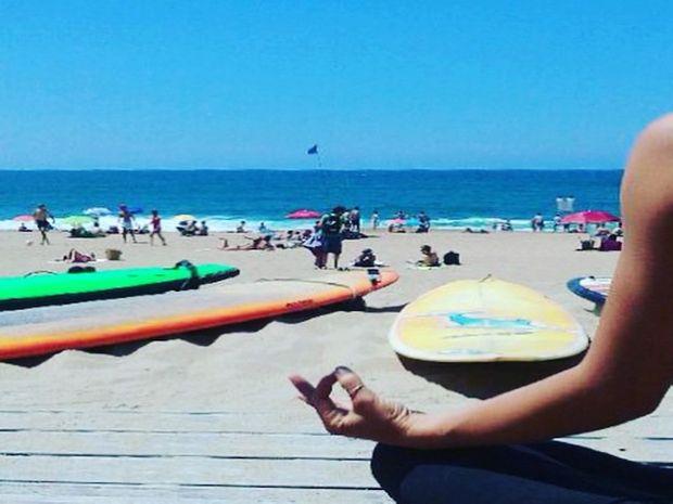 Surf et Yoga sur la Côte Basque-4