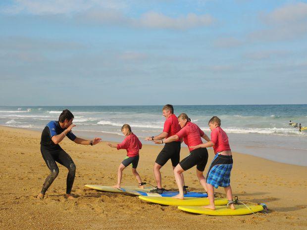 Stage de surf entre Hossegor et Biarritz-1