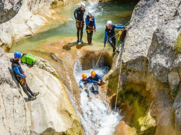 Descente du Canyon de Saint Auban-4