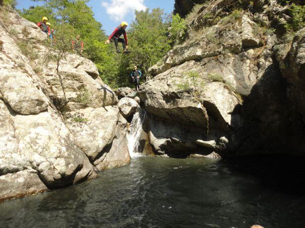Descente du Canyon de Frascaghju-2