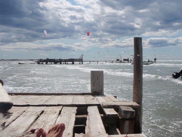 Stage de kitesurf en Camargue à Beauduc -6