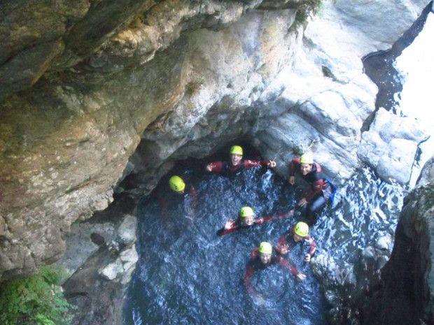 Canyoning en eau chaude-1