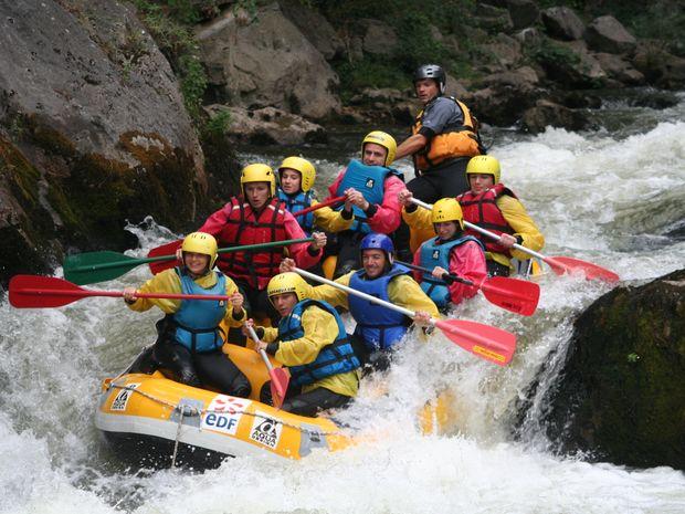 Sortie intégral en rafting des Gorges de l'Aude-7