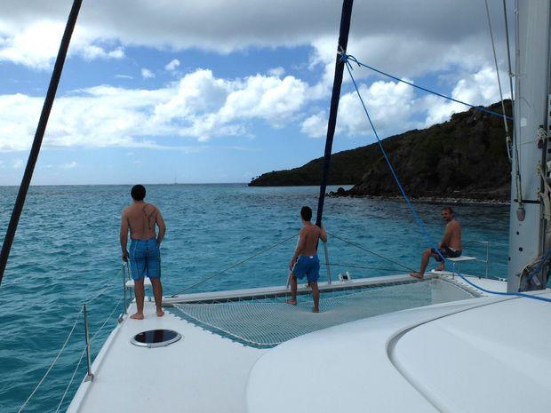 Croisière dans les Grenadines en Lagoon 400-3