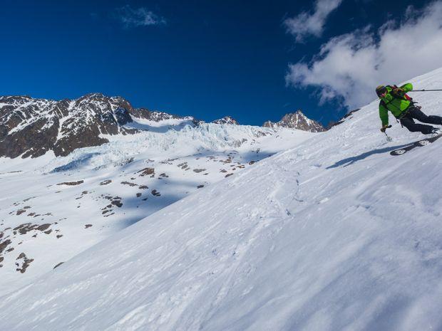 Freerando sur les glaciers de Chamonix-1