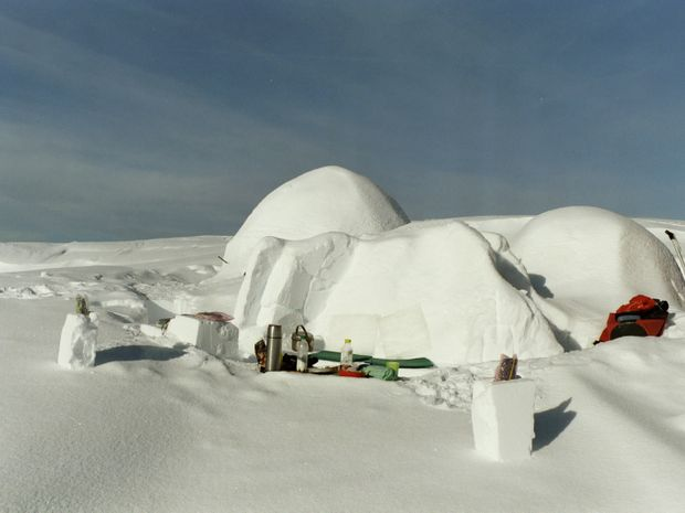 Week-End raquettes en igloo au Pays du Beaufort-1