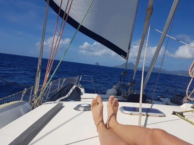 Journée en catamaran avec plongée-6