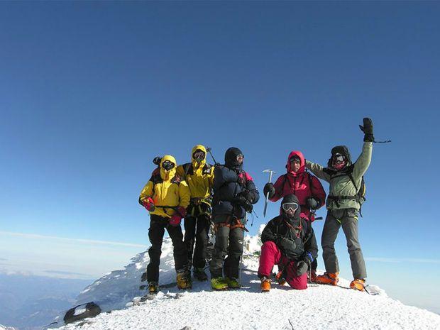 Ascension de l'Elbrouz par l'arête Sud-Ouest