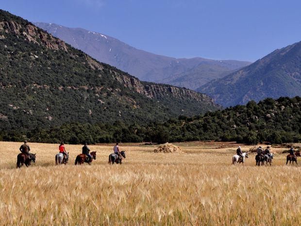 Vers la vallée d'Ouirgane