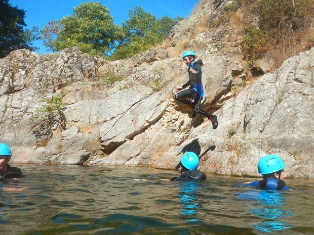 Demi journée dans le canyon de l'Azero-6
