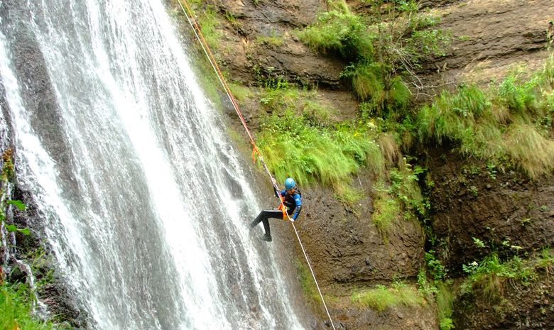Journée de descente du fameux canyon d'Espinasse-1