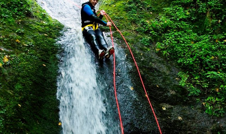 Journée de descente du fameux canyon d'Espinasse-2