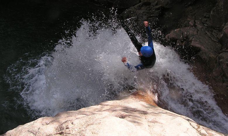 Demi-journée dans le canyon de Canceigt -1
