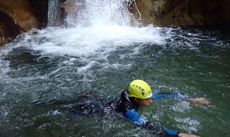 Demi-journée dans le canyon de Canceigt -7