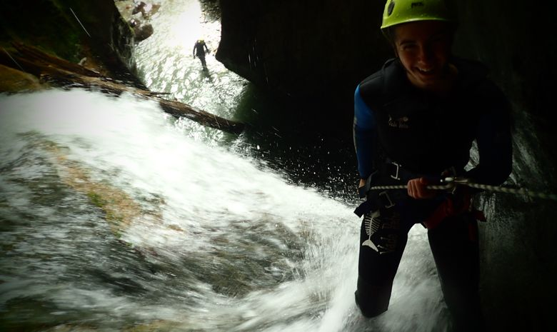 Canyon du Bitet, une journée sport et sensations-6