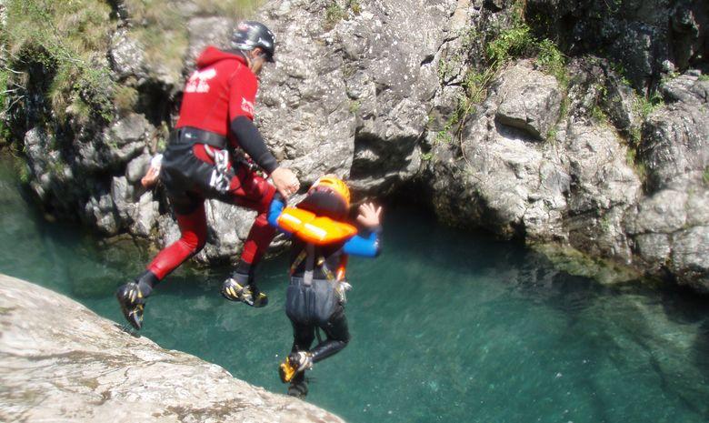 Canyon du Bitet, une journée sport et sensations-8