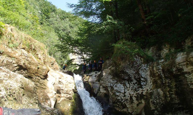 Canyoning Découverte - Jura-5