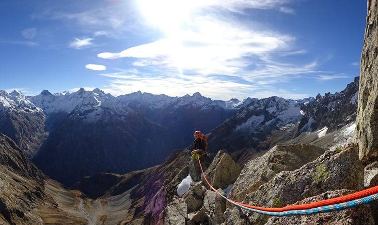 Ascension de l'Aiguille Dibona (3131 m)-6