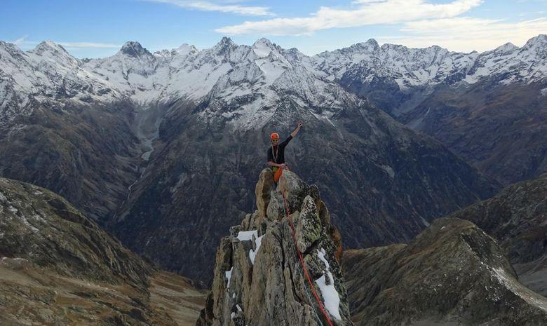 Ascension de l'Aiguille Dibona (3131 m)-10