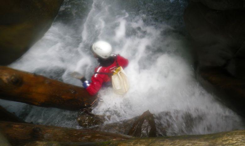 Descente sportive du Canyon du Bitet Inférieur-3