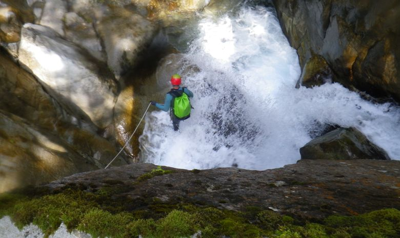 Descente sportive du Canyon du Bitet Inférieur-4