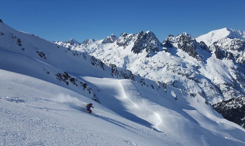 Descente de la Vallée Blanche à ski-6