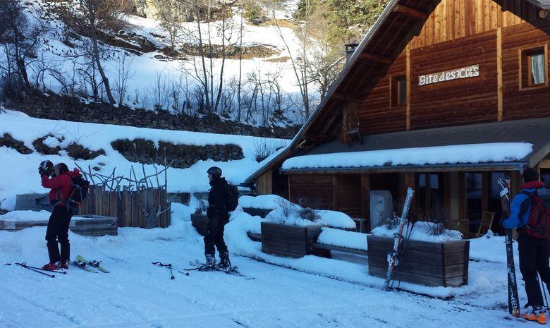 Week end raquettes dans les Alpes du Sud-5