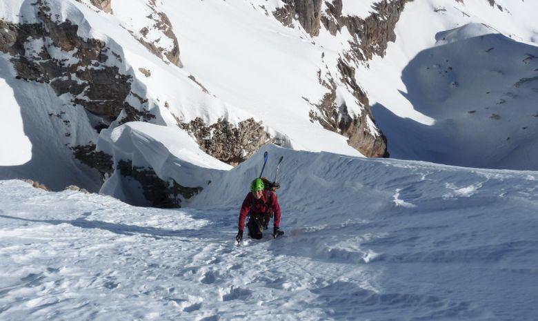 Très belle voie d'alpinisme