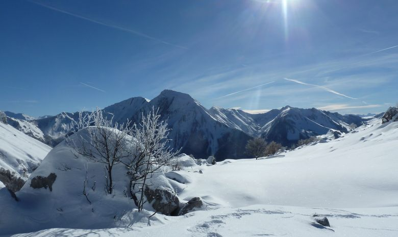 Week-end en alpages dans le Massif des Bauges
