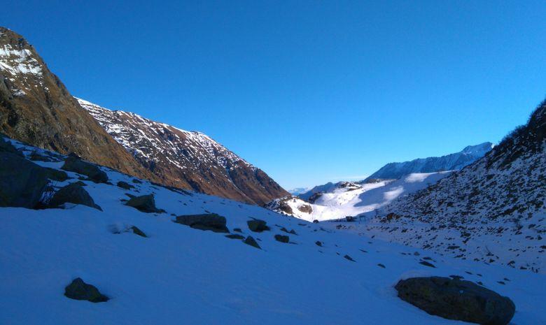 Raquettes au sommet en Vallée d'Aure-2