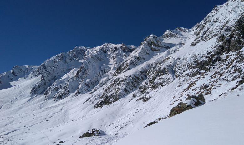 Raquettes au sommet en Vallée d'Aure-5