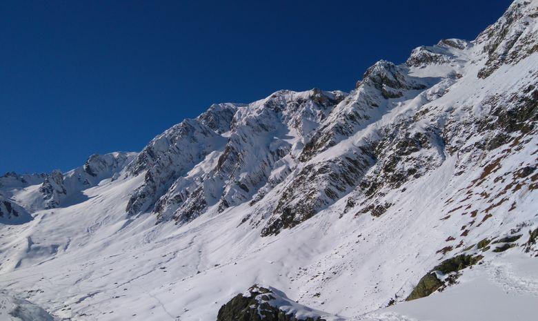 Raquettes au sommet en Vallée d'Aure-6
