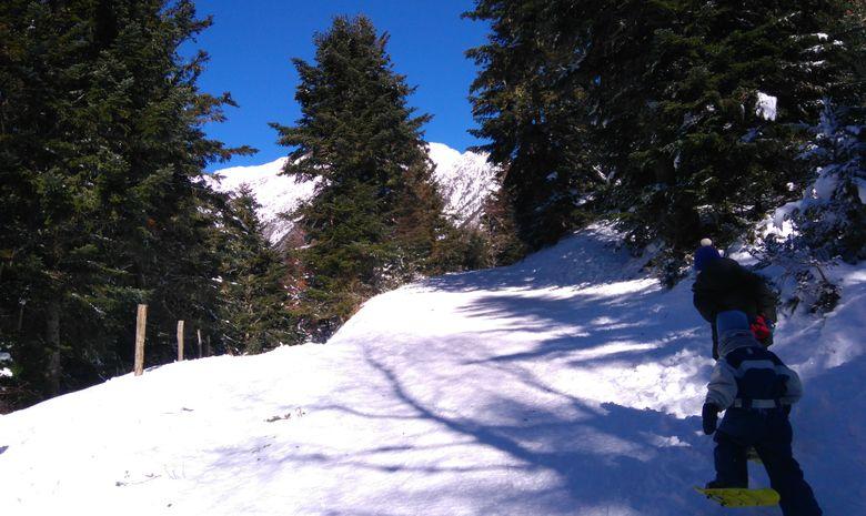 randonnée sous le soleil des Pyrénées