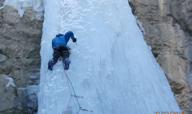 Stage 4 jours initiation cascade de glace en Ubaye-4