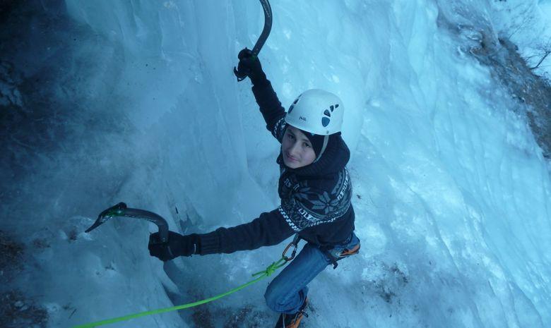 Stage 4 jours initiation cascade de glace en Ubaye-5