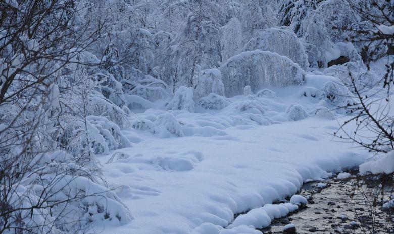 L'hiver est arrivé dans la Vallée de la Clarée !