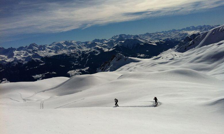 Stage ski de randonnée dans le beaufortain-4