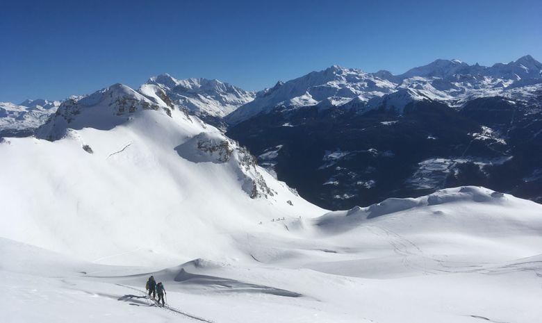 Perfectionnement ski de randonnée - Beaufortain