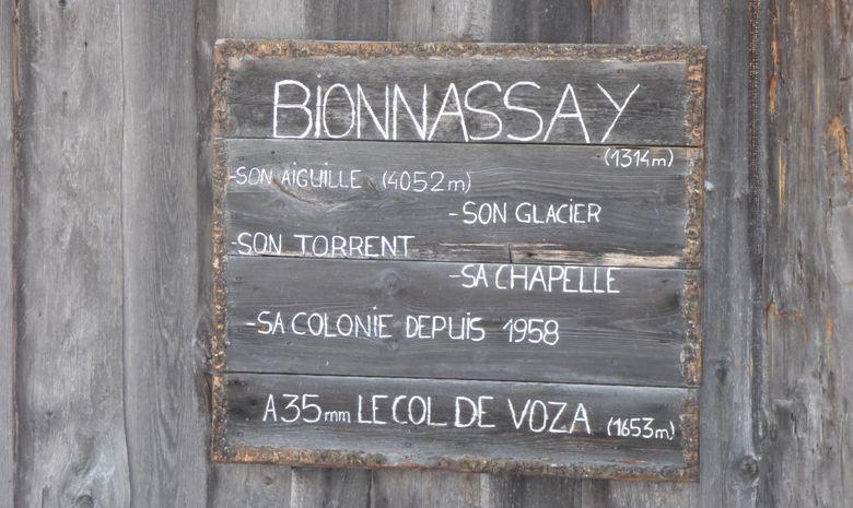 ancien panneau au hameau