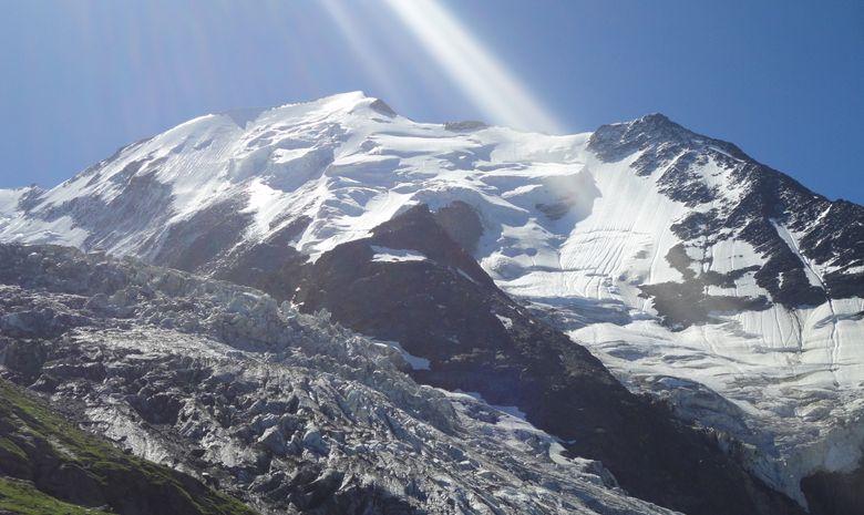 A 100m du glacier!