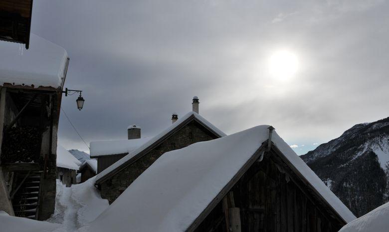 Week-end raquette en vallée de Freissinères-1