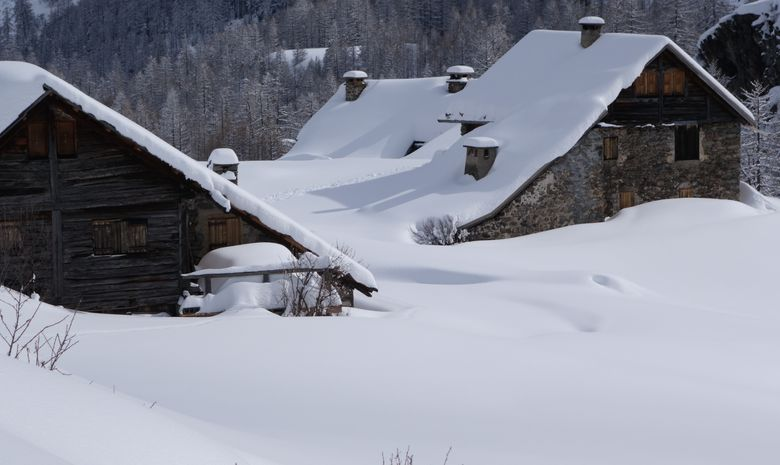 Week-end raquette en vallée de Freissinères-4