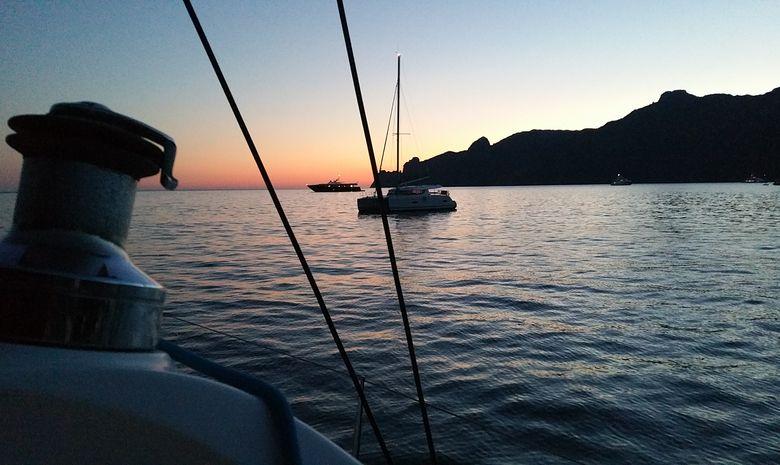Croisière catamaran le long des Côtes de Balagne -8