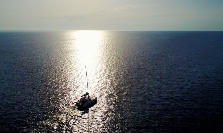 Croisière privée Cap Corse & Capraia - catamaran