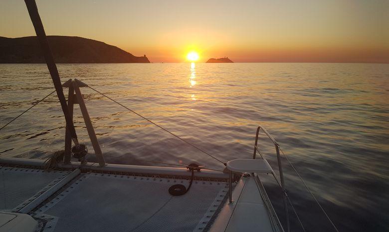 Croisière privée catamaran - Tour de Corse