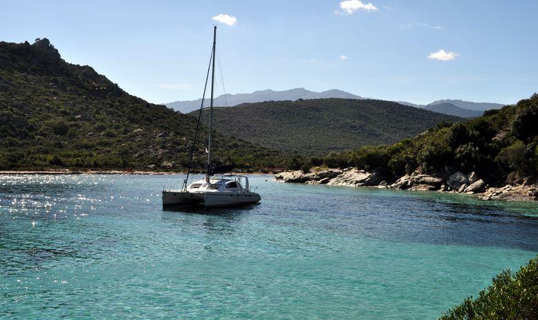 Tour de Corse en catamaran -15