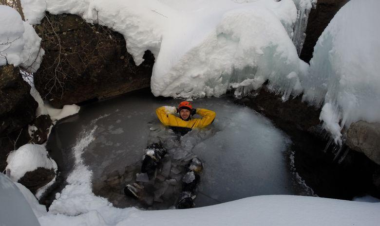 Journée Canyoning Hivernal en Vallée d'Ossau-2