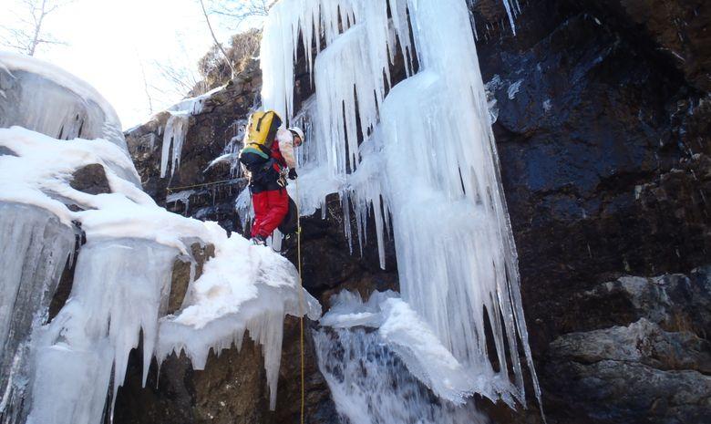 Journée Canyoning Hivernal  Hautes Pyrénées-5