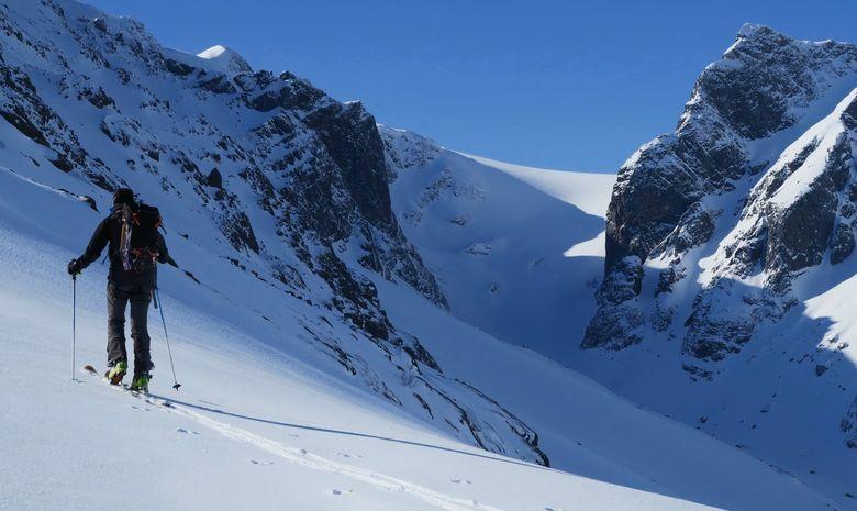 Ski de rando en Norvège à bord d'un voilier-14