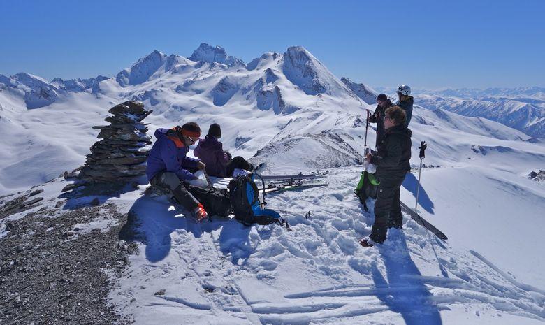 Ski de randonnée au coeur du massif du Queyras-4